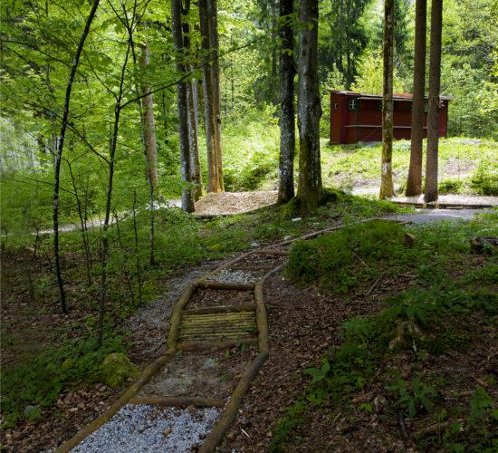 Erlebnispfad im Wald, Josefstal