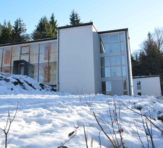 Klausurhaus im Winter, Josefstal