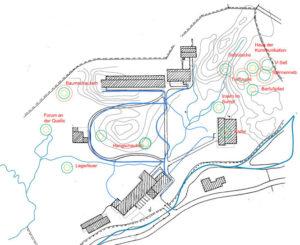 Plan Erlebnisgarten Josefstal