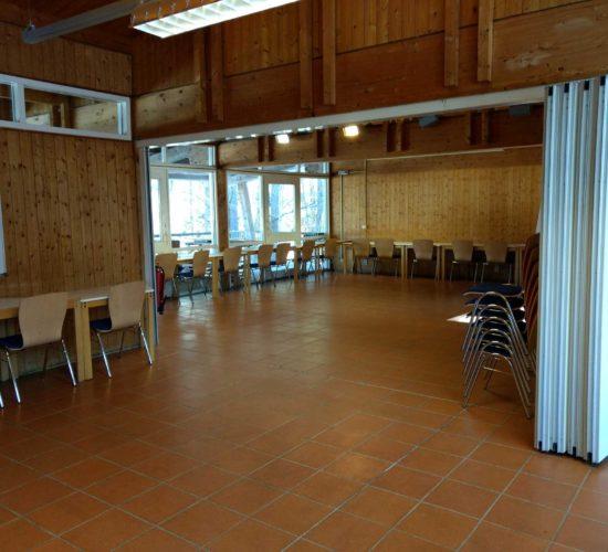 Seminarraum im Holzhaus, Josefstal