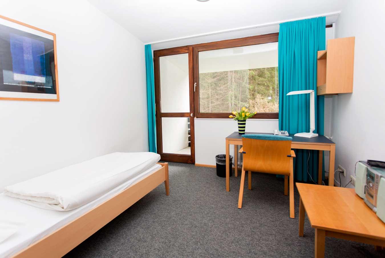 Einzelzimmer im Gästehaus B