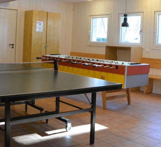 Spielekeller im Holzhaus