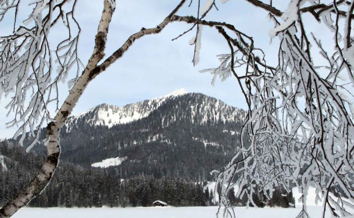 Winterlandschaft am Schliersee